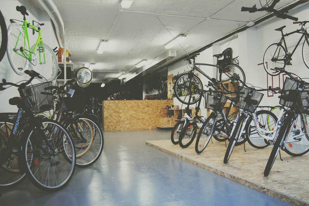 tienda de bicicletas en Valencia